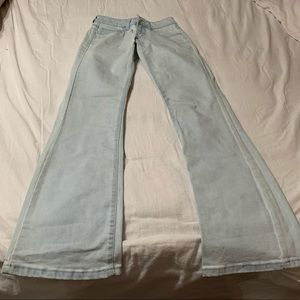 Water Color Lanky Jeans Size 24